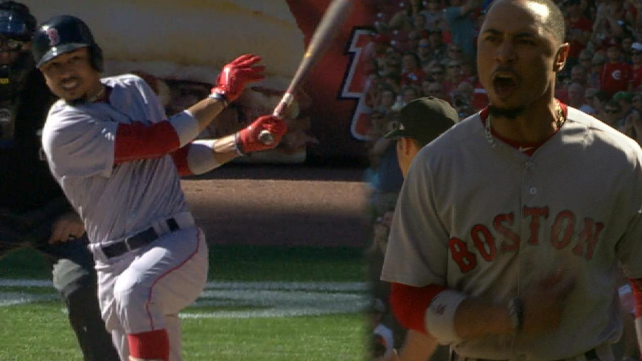 Must C: Betts leads Sox to sweep