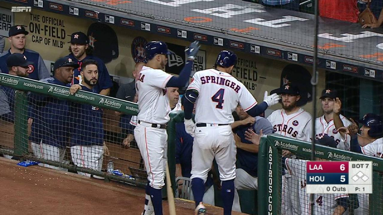 Springer's solo shot to right