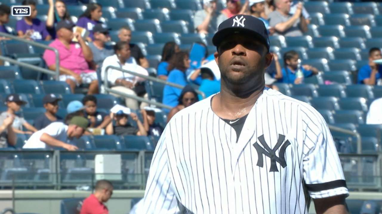 Sabathia's solid start