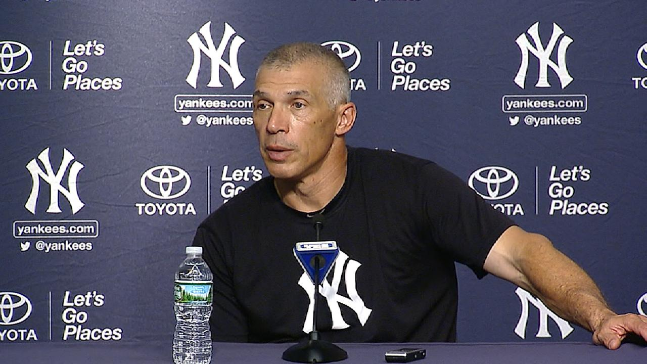 Girardi on Judge hitting 50th HR
