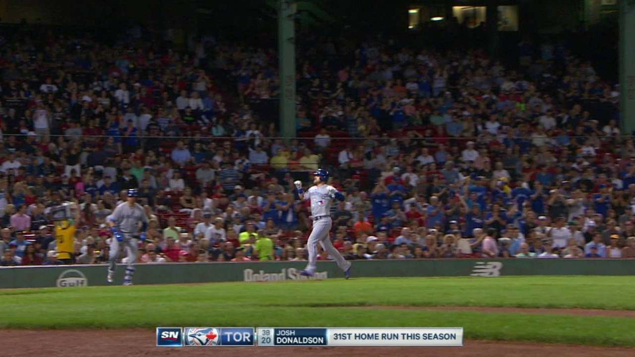 Magic number stays at 3 as Sox fall to Jays
