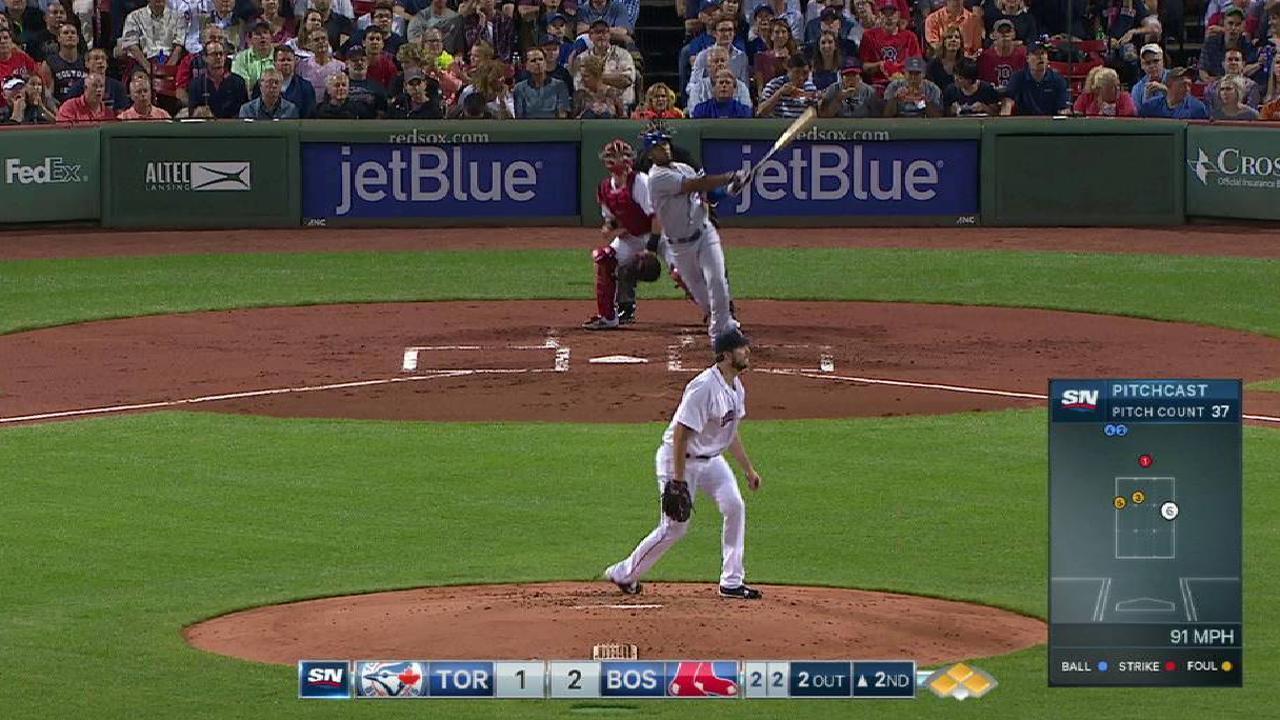 Hernandez doubles in two runs