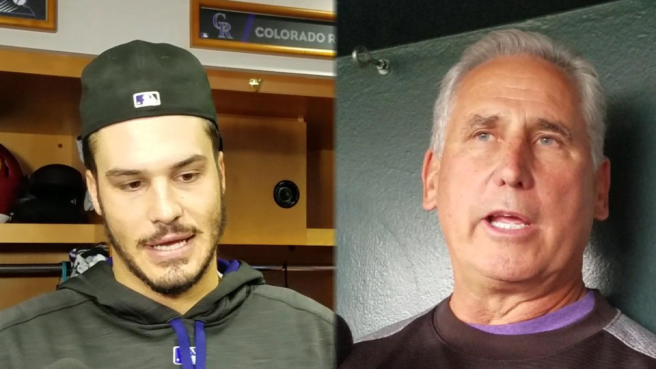 Arenado returns to lineup after hand injury