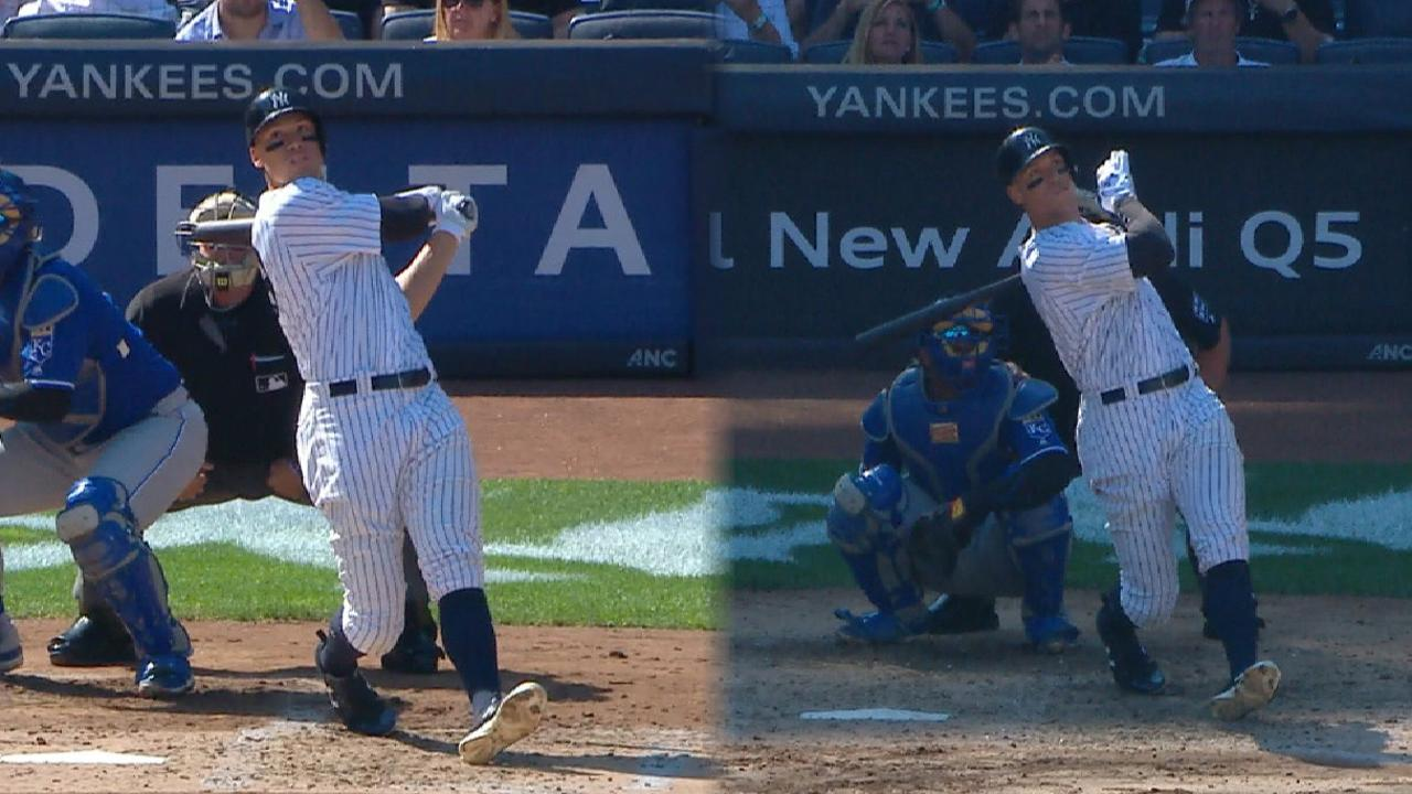 All 50 of Judge's home runs