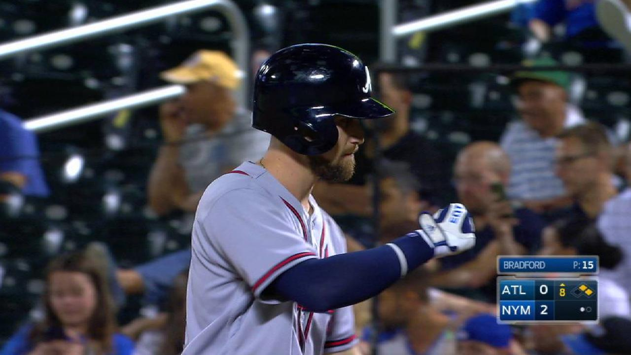 Inciarte's 199th hit of 2017