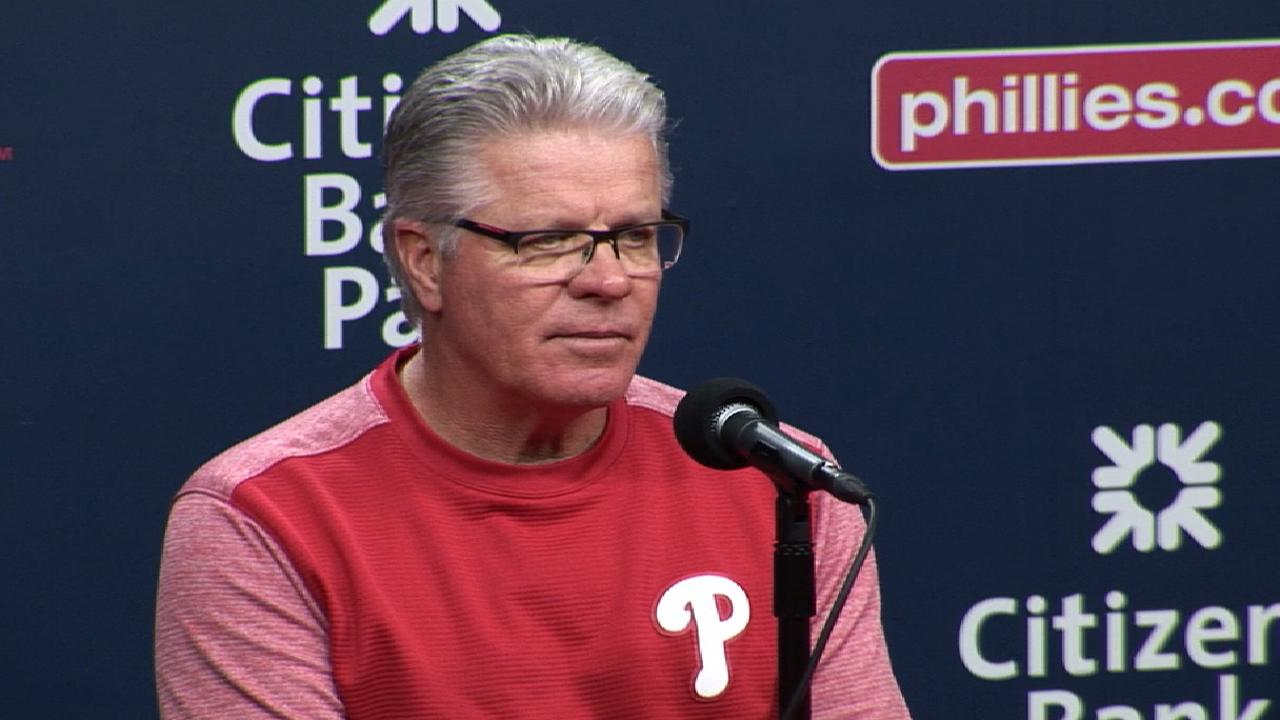 Mackanin on loss to Nationals