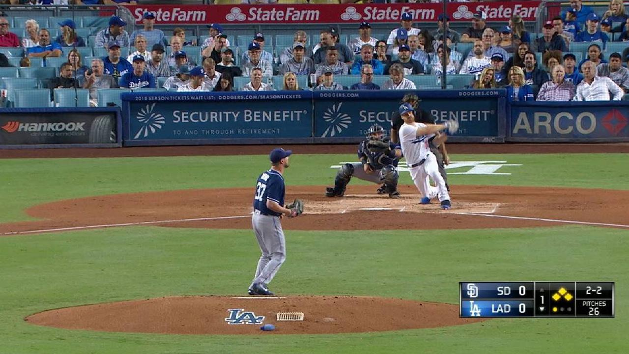 Forsythe's bases-clearing double
