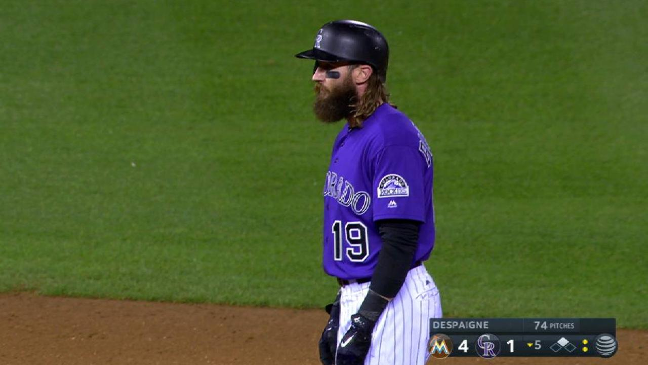 Rockies can't cash in RISP; 1 1/2 up in WC