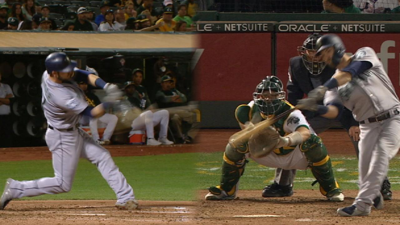 Haniger's two-homer game