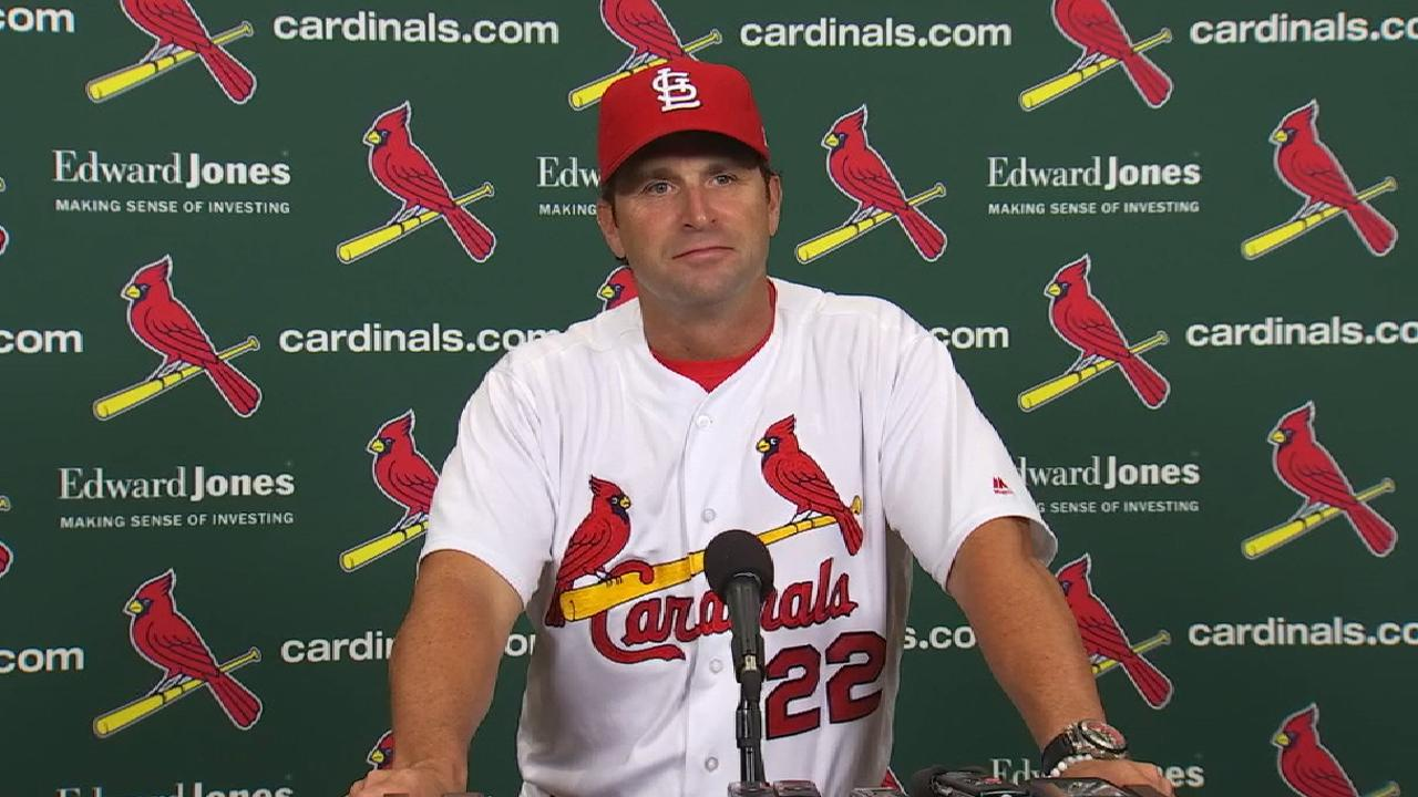 Matheny on Molina's injury, loss