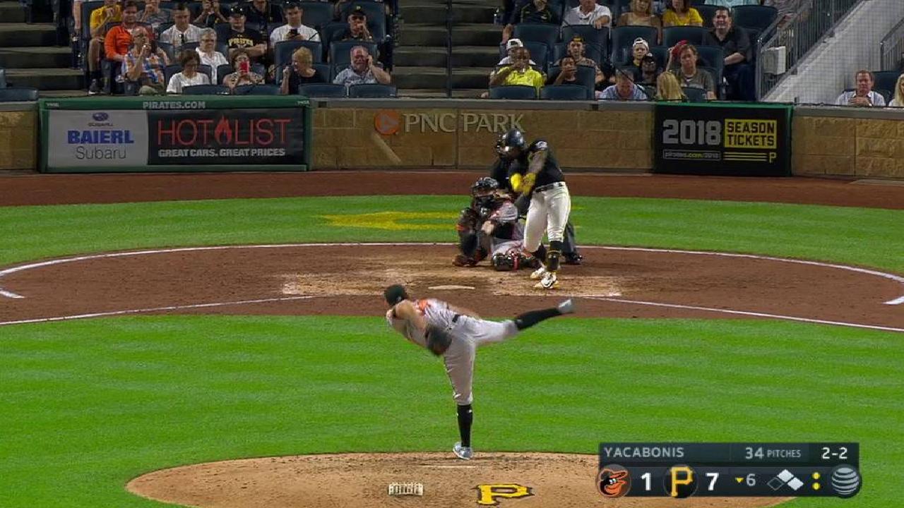 Cutch's three-run home run