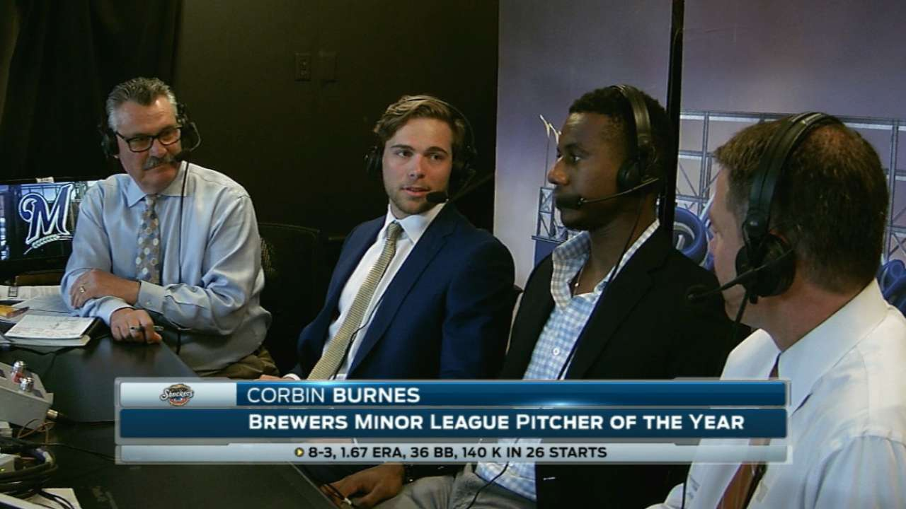 Burnes talks season, Brewers