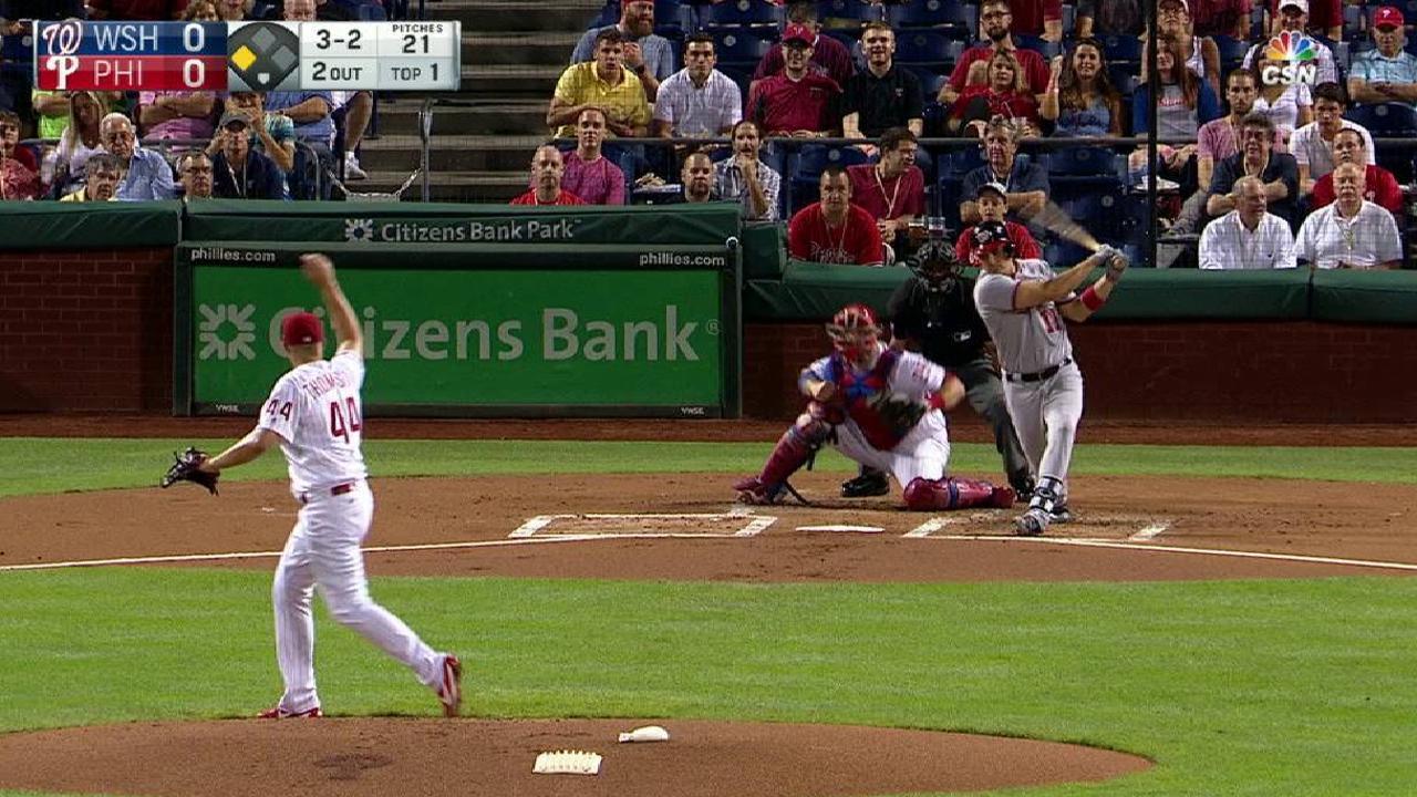 Thompson gets Zimmerman swinging