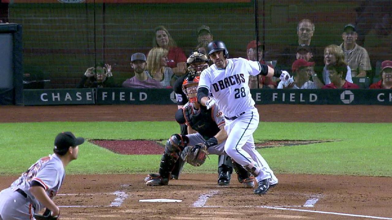 Martinez's two-run double