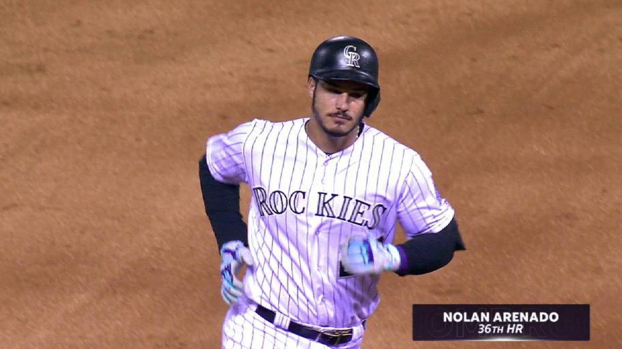Arenado belts his 36th home run