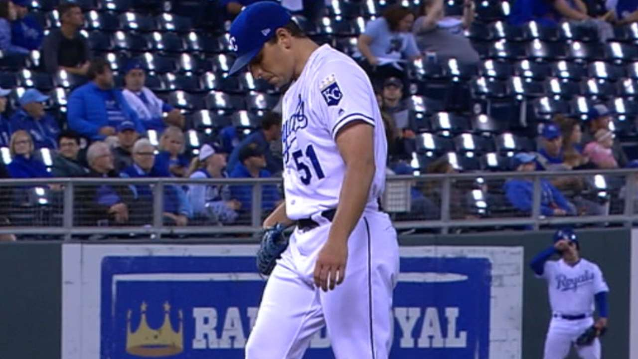 Vargas' strong outing at home