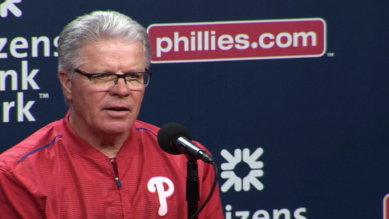 Mackanin on Phillies' 4-1 win
