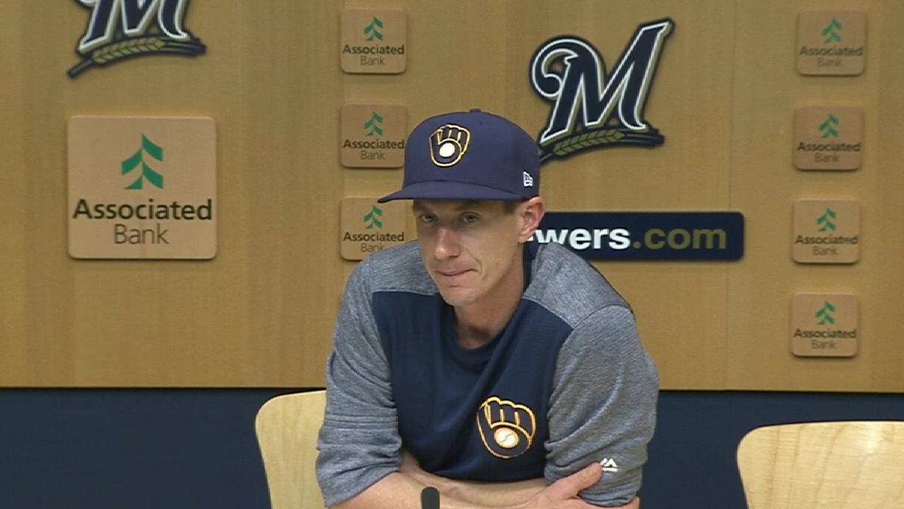 Counsell talks Hader, Domingo