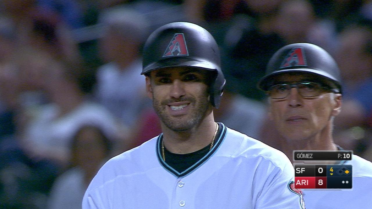 Martinez's three-hit day