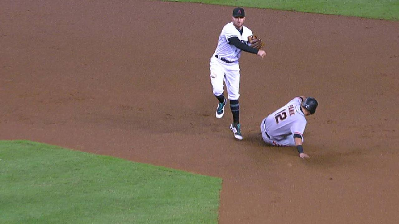 Ray induces a double play