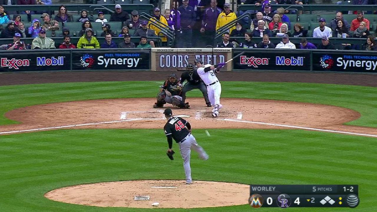 Story's two-run single