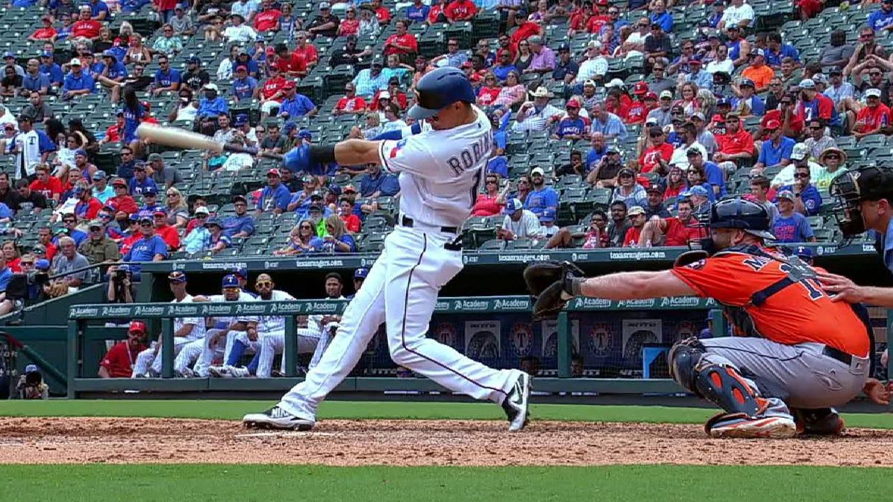 Robinson's long solo home run