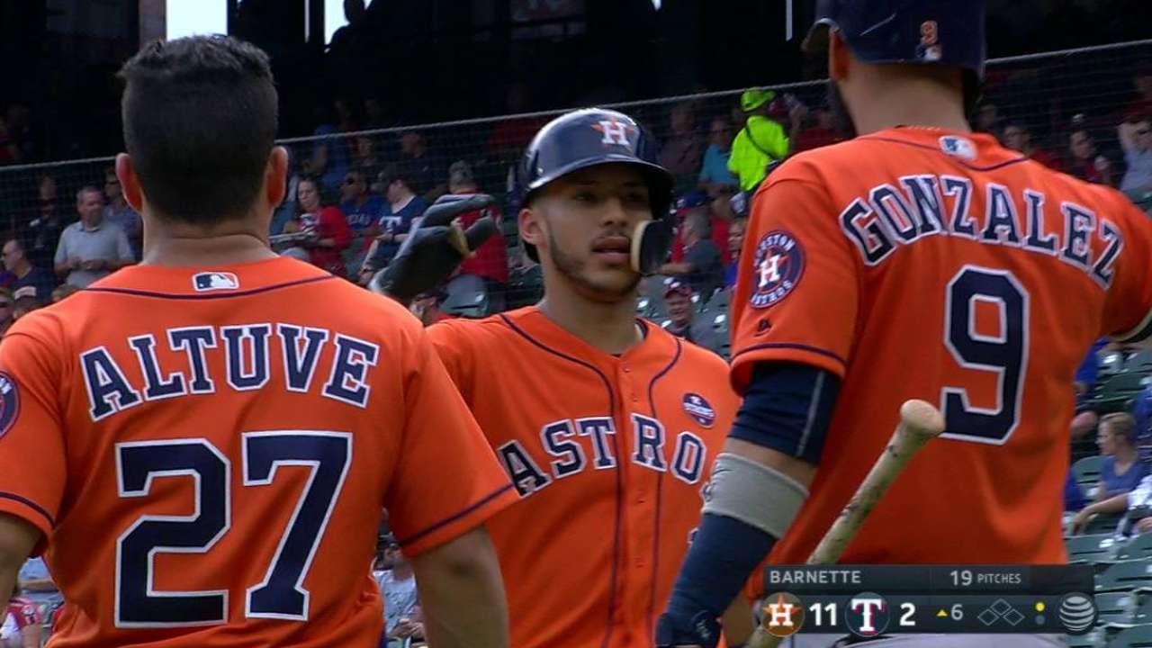 Correa's second home run
