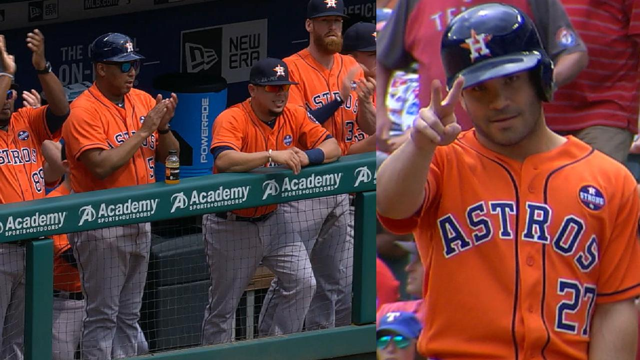 Altuve notches 4th straight 200-hit season