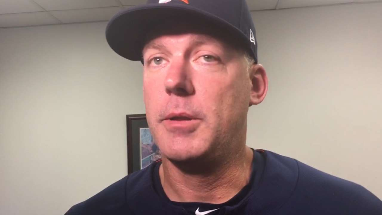 Hinch on Astros' 12-2 win