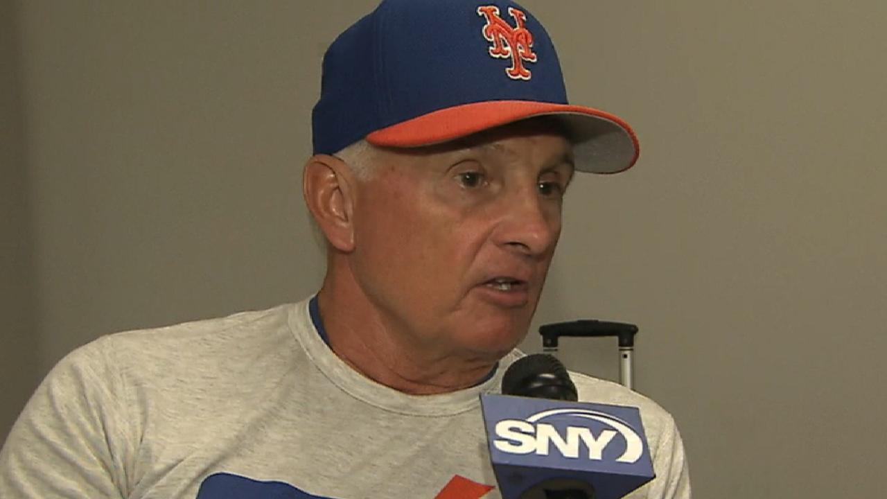 Collins reflects on managing at Citi Field