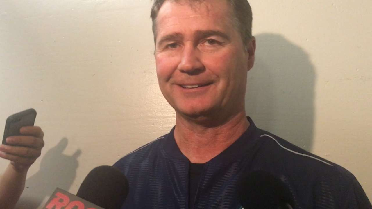 Servais on Marjama's MLB debut
