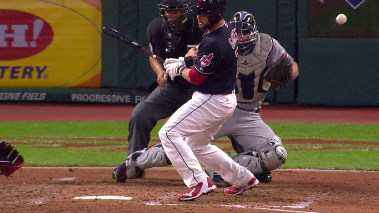 Gomes draws bases-loaded HBP