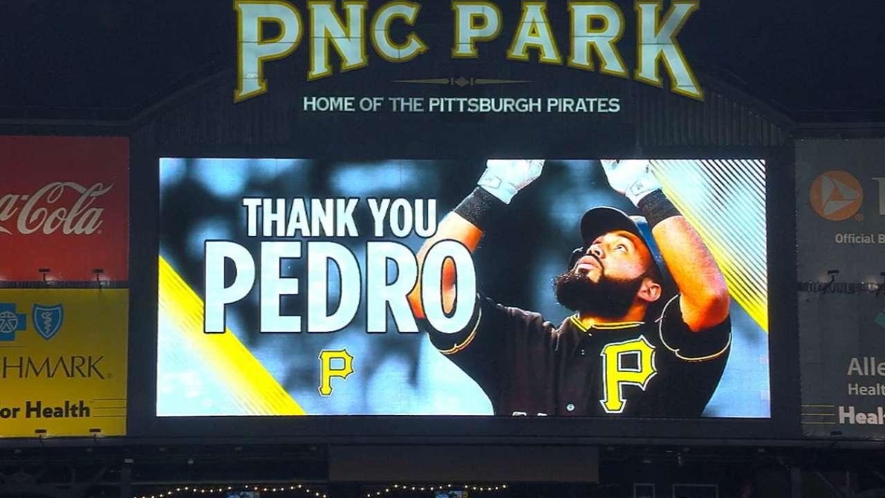 Alvarez Enjoys Ovation In Return To PNC Park