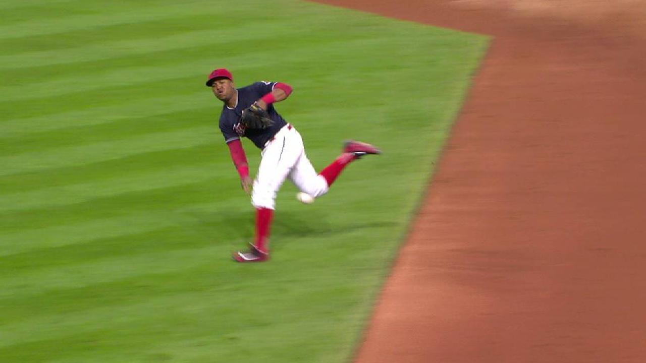 Ramirez's nifty off-balance play