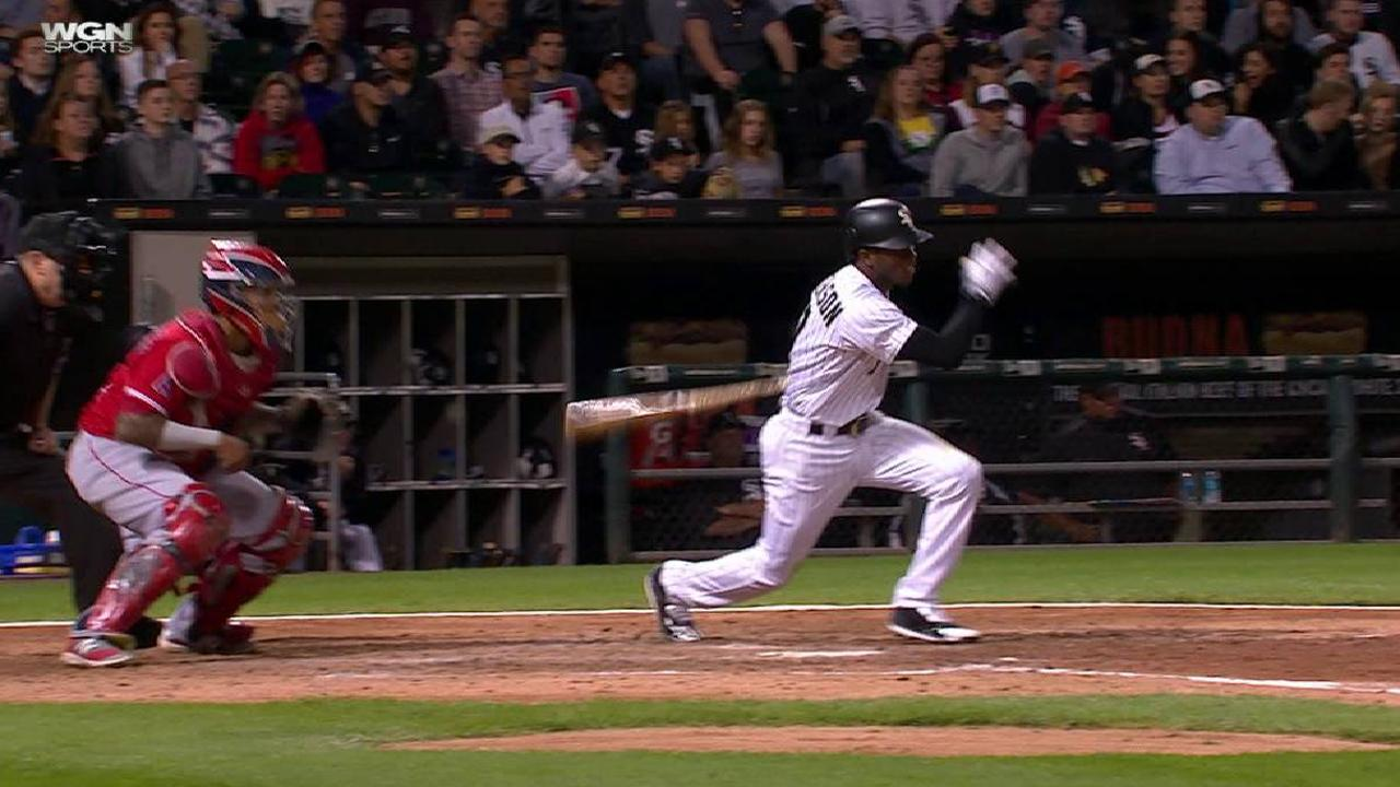 Anderson's RBI single