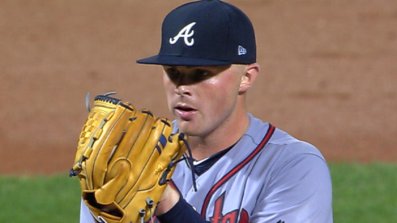 Newcomb's seven-strikeout outing
