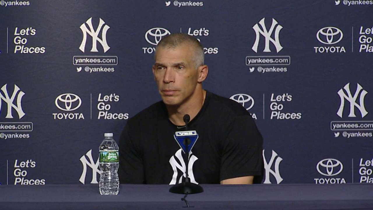 Girardi on Severino's outing