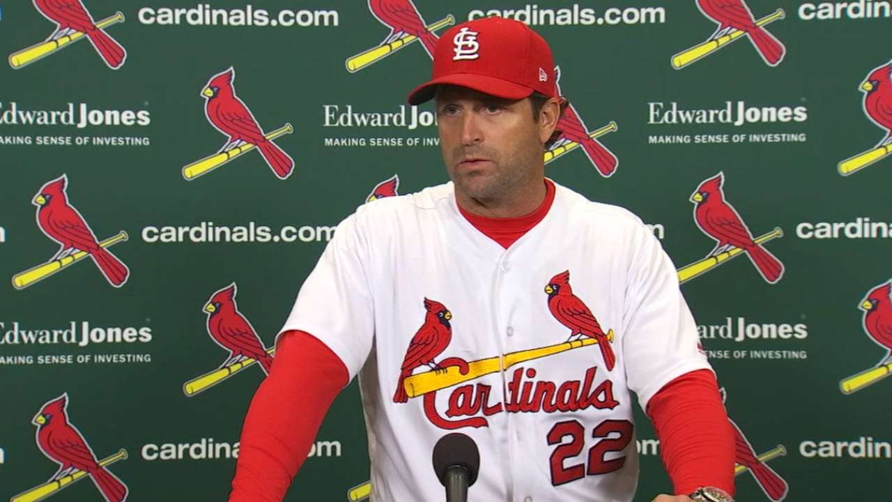 Matheny on 5-1 loss to Cubs