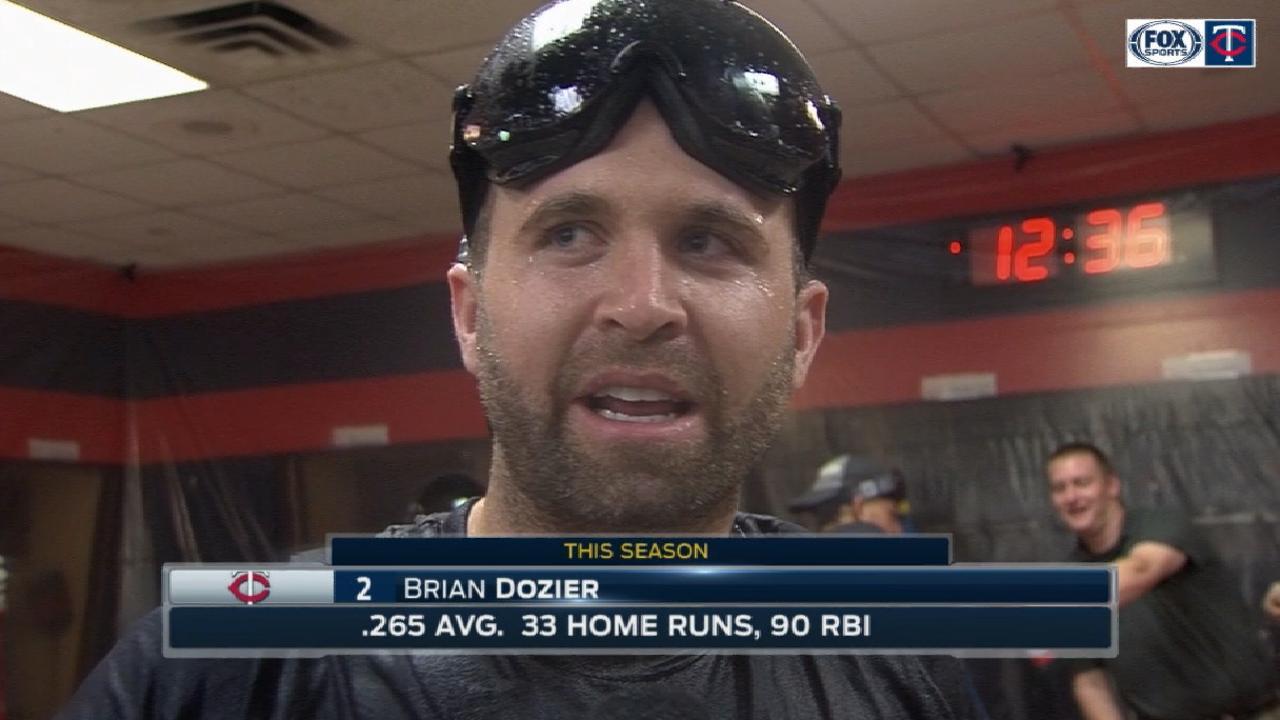 Dozier on Twins Wild Card berth