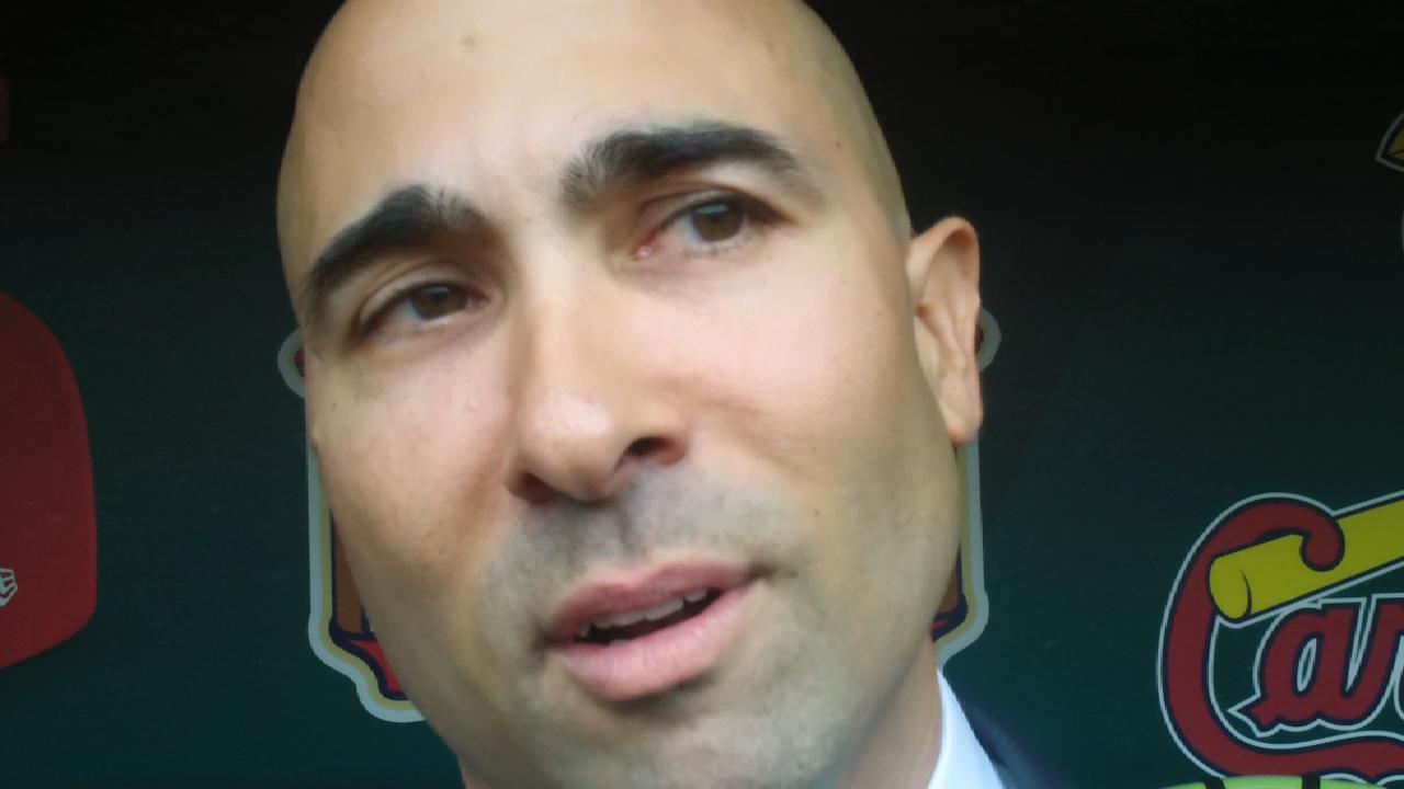 Moisés Rodríguez contento de ser el nuevo GG asistente de los Cardenales