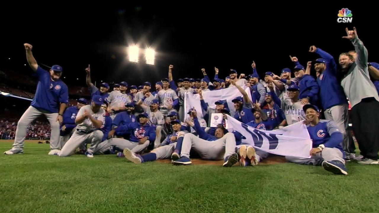 Cubs clinch, ready for more