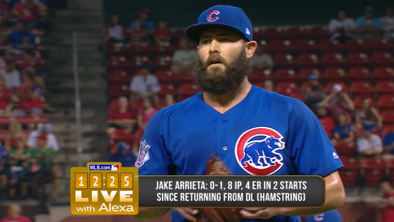 Arrieta tunes up for Game 4 with 'pen session