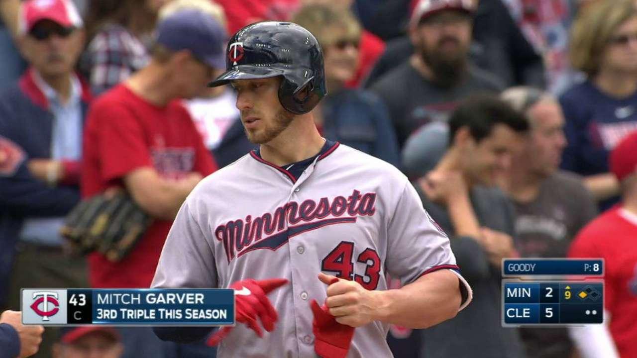 Garver, Slegers net Twins' organizational honors