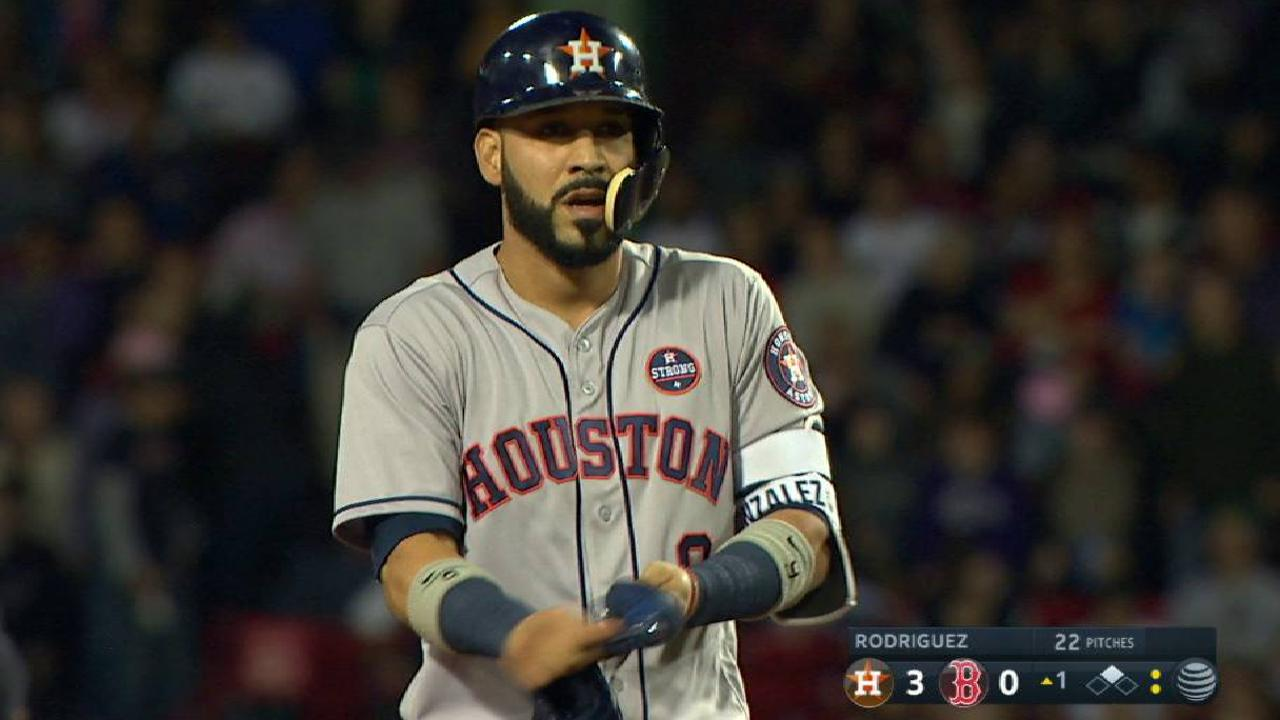 Gonzalez's bases-clearing double