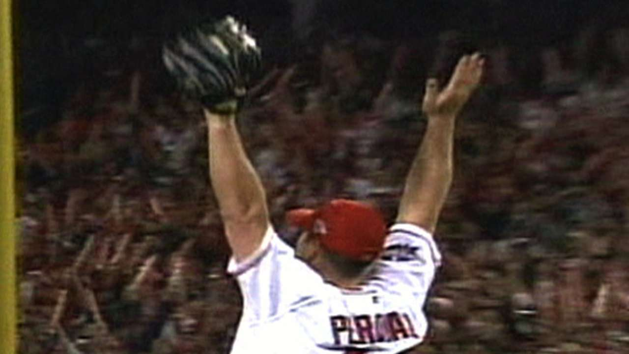The Angels win the World Series