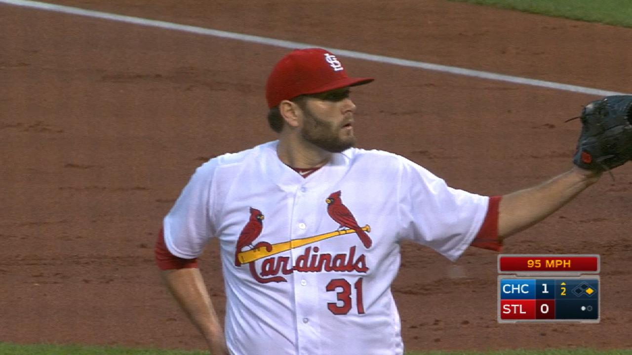 Lynn reflects after likely last start with Cardinals
