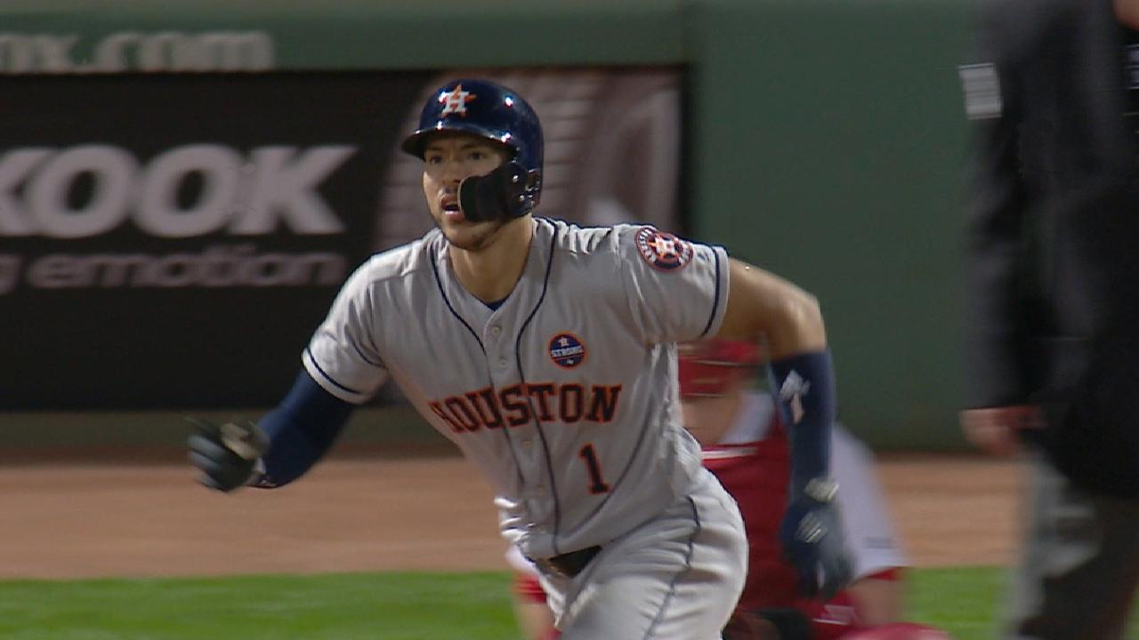 Astros roll at Fenway, but Sox on cusp of clinch