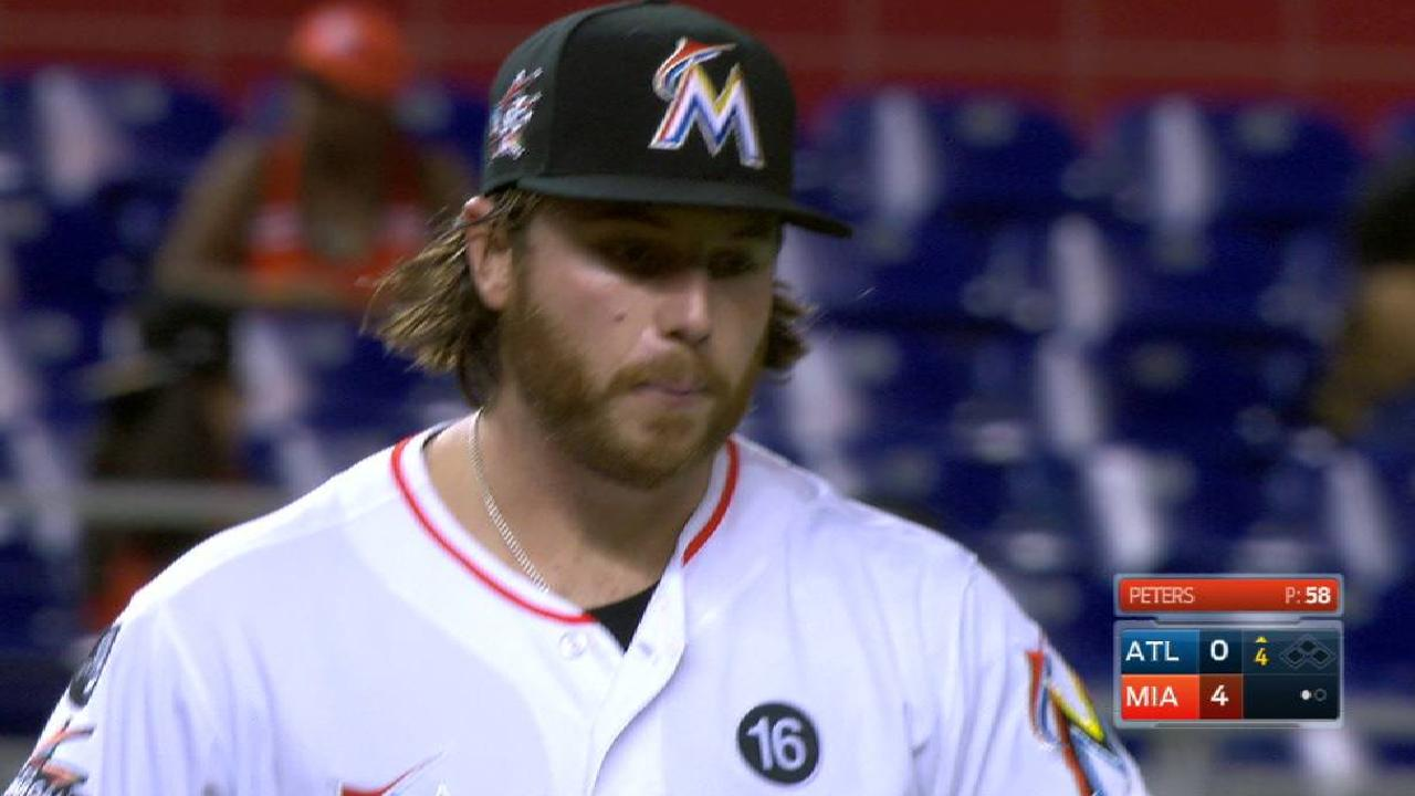 No AFL for Peters as Marlins change plans