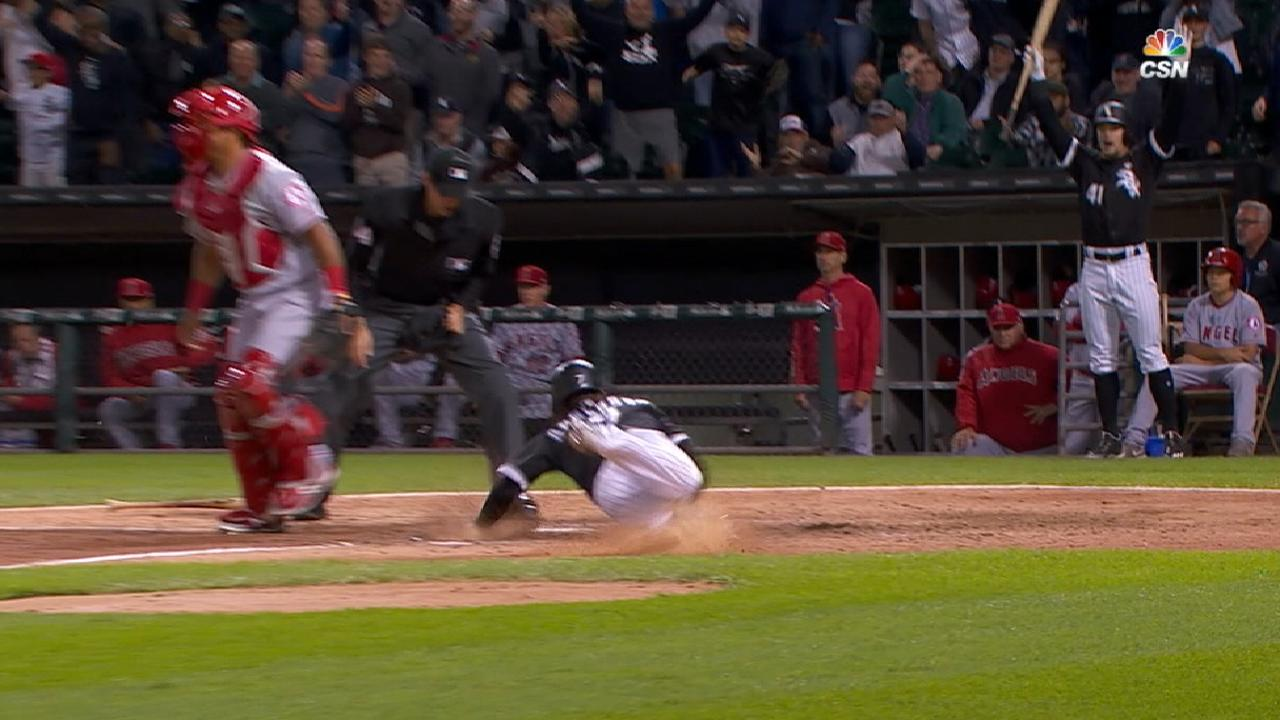 Anderson's speed gives Sox lead