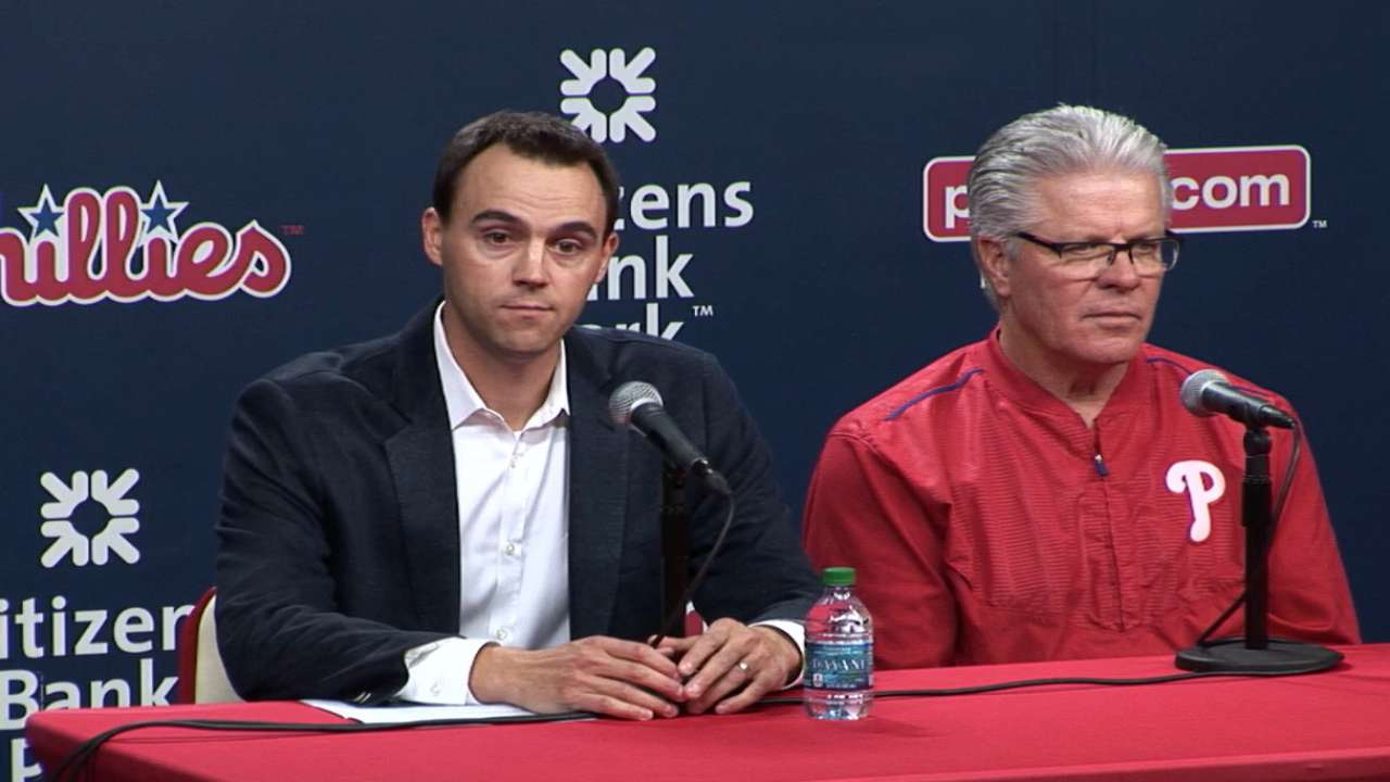 Klentak, Mackanin on new role